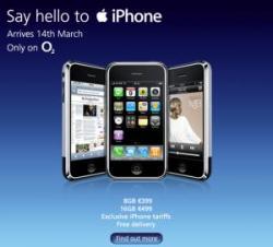 iPhone Irland 14. marts