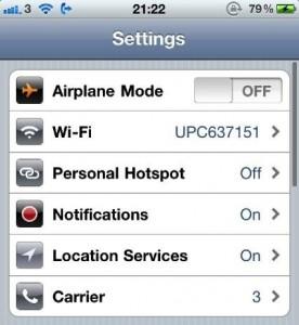 iphone 4 hotspot