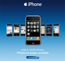 iPhone, udsolgt eller udgået?
