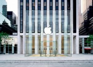 Sådan kommer Apples nye glas-indgang til butikken på Fifth Avenue til at se ud.