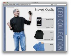 Her er Steve Jobs' garderobe